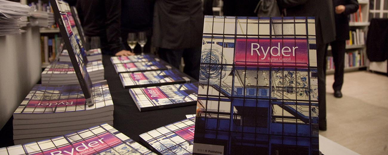 Ryder book launch
